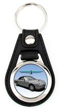 11th Generation Ford Thunderbird Softtop Artwork T-Bird key fob - Grey - $7.50