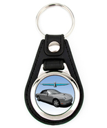 11th Generation Ford Thunderbird Softtop Artwork T-Bird key fob - Grey - $7.50