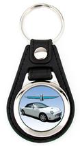 11th Generation Ford Thunderbird Softtop Artwork T-Bird key fob - White - $7.50