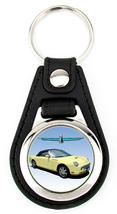 11th Generation Ford Thunderbird Softtop Artwork T-Bird key fob - Yellow - $7.50
