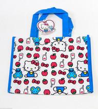 Hello Kitty by Sanrio Reusable Mini Plastic Vinyl Tote Shopping, Beach, Gift Bag - $3.49