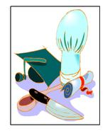 Graduate Culinary Art-Digital Download-ClipArt-... - $4.00
