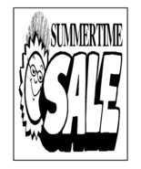 Summer Time Sale-Digital Download-ClipArt-ArtCl... - $3.00