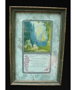 Antique Parrish Fox Style Mother Print w/ Poem Motto - $15.00