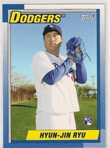 2013 Topps Archives Hyun-Jin Ryu Rookie - $1.99