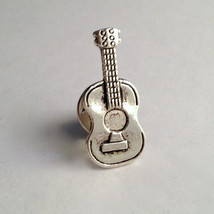 Men's New Hand Crafted Silver Music Guitar Tie ... - $12.99