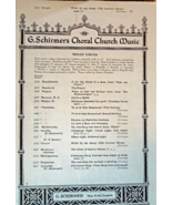 "Vintage Christian Sheet Music 1940 Coral Church Music ""While My Sheep""  ... - $5.99"