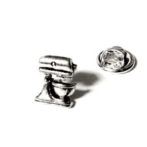 Silver Kitchen Aid Mixer, Mens Tie Tack OR Unis... - $12.99