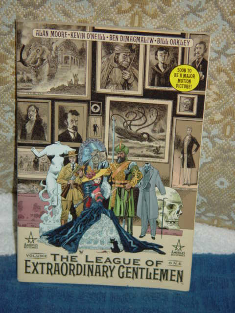 annotations to league of extraordinary gentlemen volume - 480×640