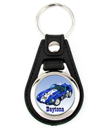 Shelby Cobra Daytona Coupe Richard Browne Artwork Keychain Key Fob - $7.50