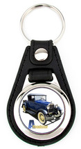 Ford A Roadster Richard Browne Key Fob - Blue - $7.50