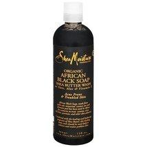 Shea Moisture African Black Soap Body Wash-13 o... - $15.99