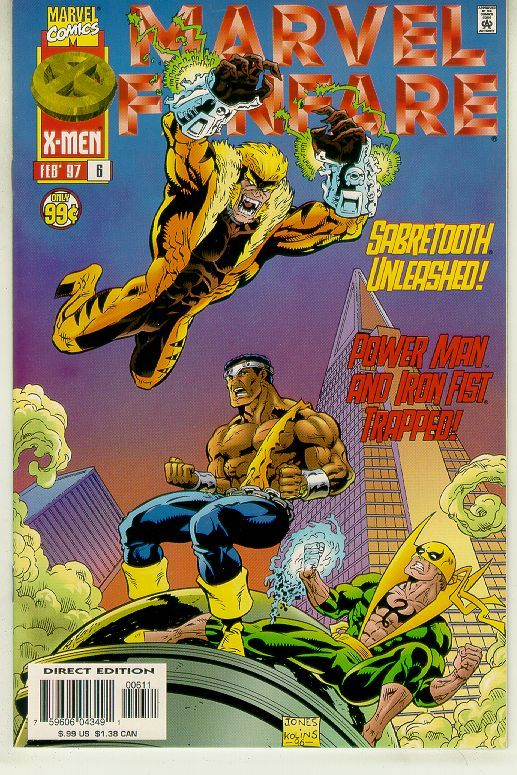 MARVEL FANFARE #6 (1996 Series) NM! ~ Power Man and Iron Fist