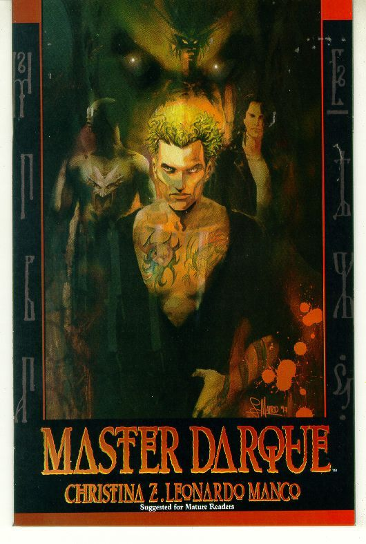 MASTER DARQUE #1 (Acclaim Comics) NM!