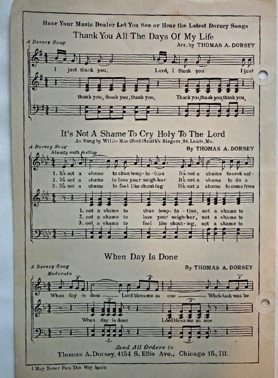 """Vintage 1947 Sheet Music  - """"I May Never Pass This Way Again"""" #7174"""