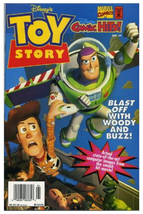 1995 Disney Comic Hits! #4 Toy Story Comic Book ~ Marvel VF/NM Condition - $6.50