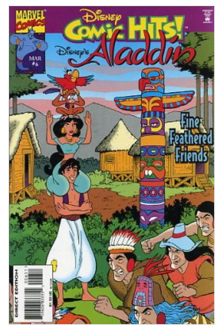 1995 Disney Comic Hits! #6 Aladdin Comic Book ~ Marvel VF/NM Condition