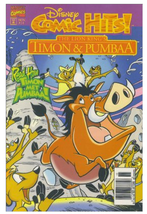 1995 Disney Comic Hits! #8 Lion King's Timon & Pumba ~ Marvel VF/NM Cond... - $4.00