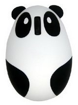 New 2.4 GHz Optical Mouse Lovely Creative Panda Computer Mice WHITE - $310,44 MXN