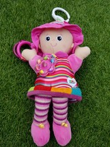 Lamaze Girls Infant Baby Rattles toy. Size shown on the images provided - $7.83