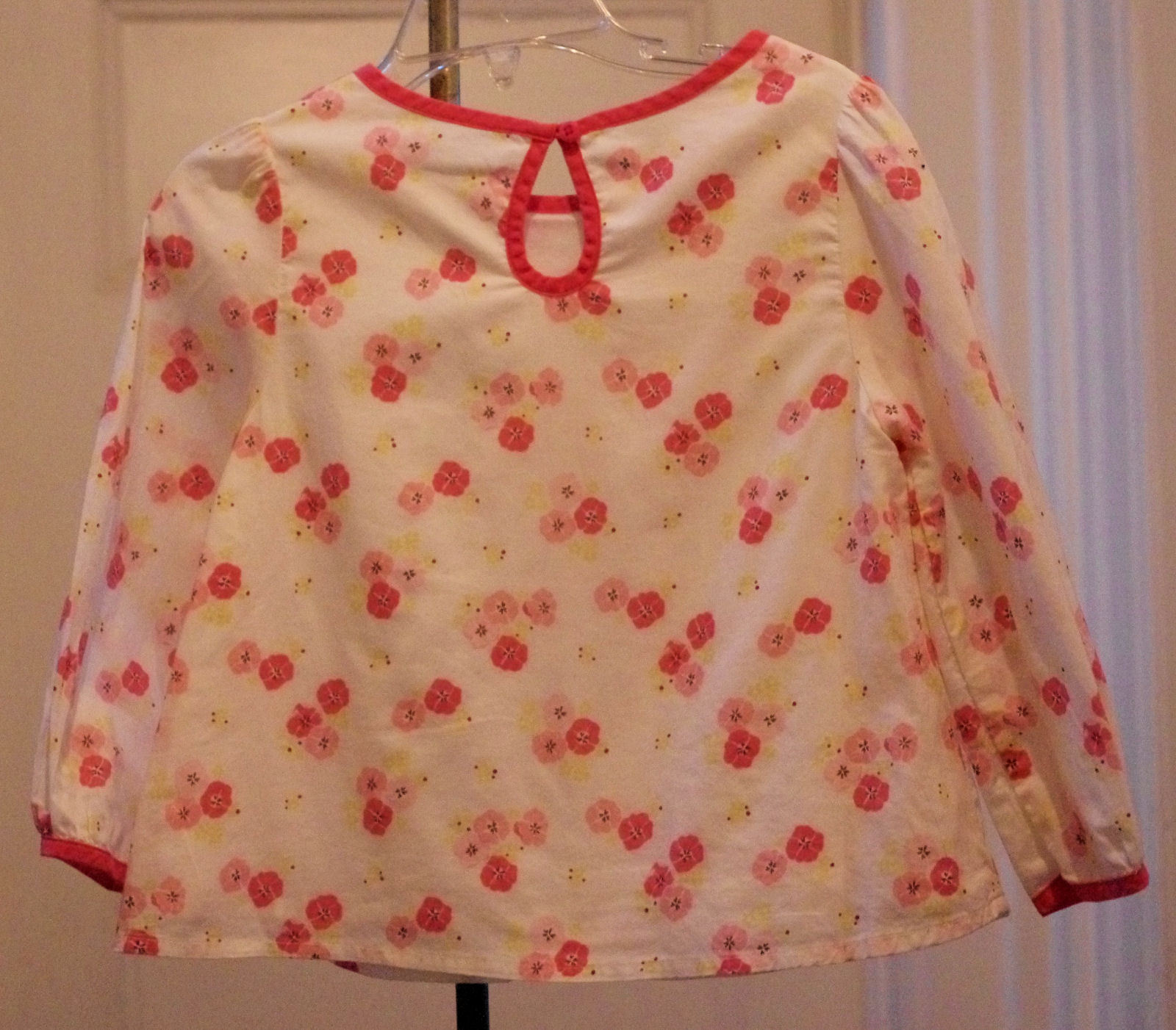 Girls GYMBOREE TEA FOR TWO Swing Top Sz 12-18 Mos NWT