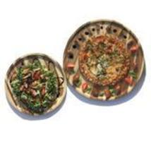 Set of Two Large Round Acacia Platters - $145.00