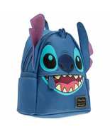 Disney Parks Stitch Faux Leather Mini Backpack by Loungefly New with Tags - $92.27