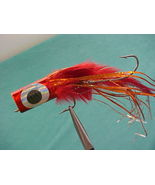Red Face/ Tail TWO HOOKS Fishing Lures - $5.99