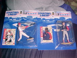 1997 Starting Lineup Dennis Eckersley And Ivan Rodriguez - Both New - $12.99