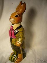 Vaillancourt Folk Art Wonderful Derby Rabbit for Easter no. 21002 image 1