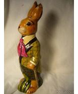 Vaillancourt Folk Art Wonderful Derby Rabbit for Easter no. 21002 - $299.99