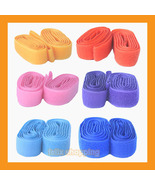 "8 velcro tapes 1"" sew on hook loop rolls strap 17yd 23 color clothing ho... - $9.50"
