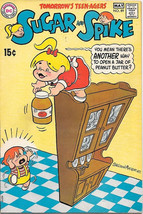 Sugar and Spike Comic Book #89 DC Comics 1970 Sheldon Mayer Art FINE - $16.39
