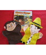 Curious George and the Man with the Yellow Hat Hand Puppets - $13.00