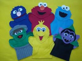Sesame Street Hand Puppets - $30.00