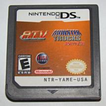 Nintendo DS - 2 Games in 1 - ATV and MONSTER TRUCK MAYHEM (Game Only) - $5.00