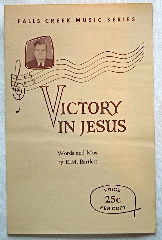 "Primary image for Vintage Sheet Music -Vintage Christian Sheet Music 1950s ""Victory In Jesus""#7167"