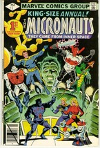 MICRONAUTS ANNUAL #1 (Marvel, 1979) - $1.50