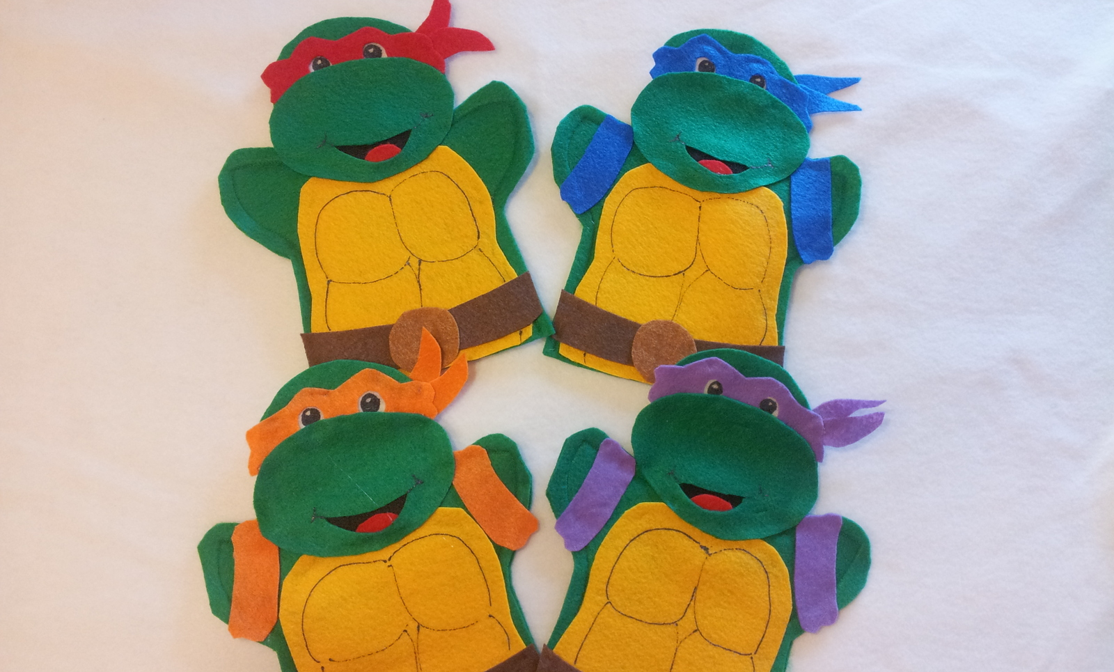 Teenage Mutant Ninja Turtles Hand Puppets