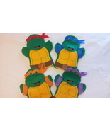 Teenage Mutant Ninja Turtles Hand Puppets - $25.00