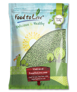 Food To Live® SPROUTING GREEN PEAS (Green Vatana) - Raw, Whole (10 Pounds) - $17.49