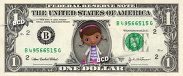 DOC MCSTUFFINS on REAL Dollar Bill Collectible Celebrity Cash Money Gift - $5.55