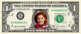 KATHERINE JANEWAY Star Trek on REAL Dollar Bill Collectible Cash Money Gift - $5.55