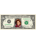 KATHERINE JANEWAY Star Trek on REAL Dollar Bill Collectible Cash Money Gift - €4,76 EUR