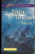 Sunken Treasure Katy Lee (Love Inspired LP Suspense)Stepping Stones Isla... - $2.25