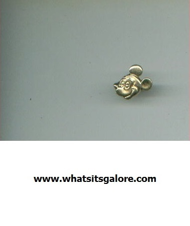 Walt Disney MICKEY MOUSE jewelry: ring + necklace