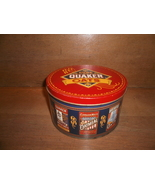 1983 Collectable Quaker Oats Advertisement Tin Can , with Oatmeal Cookie... - $15.00