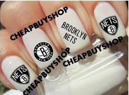 Flash Sale》Nba Brooklyn Nets Basketball Logos》Tattoo Nail Art Decals - $16.99