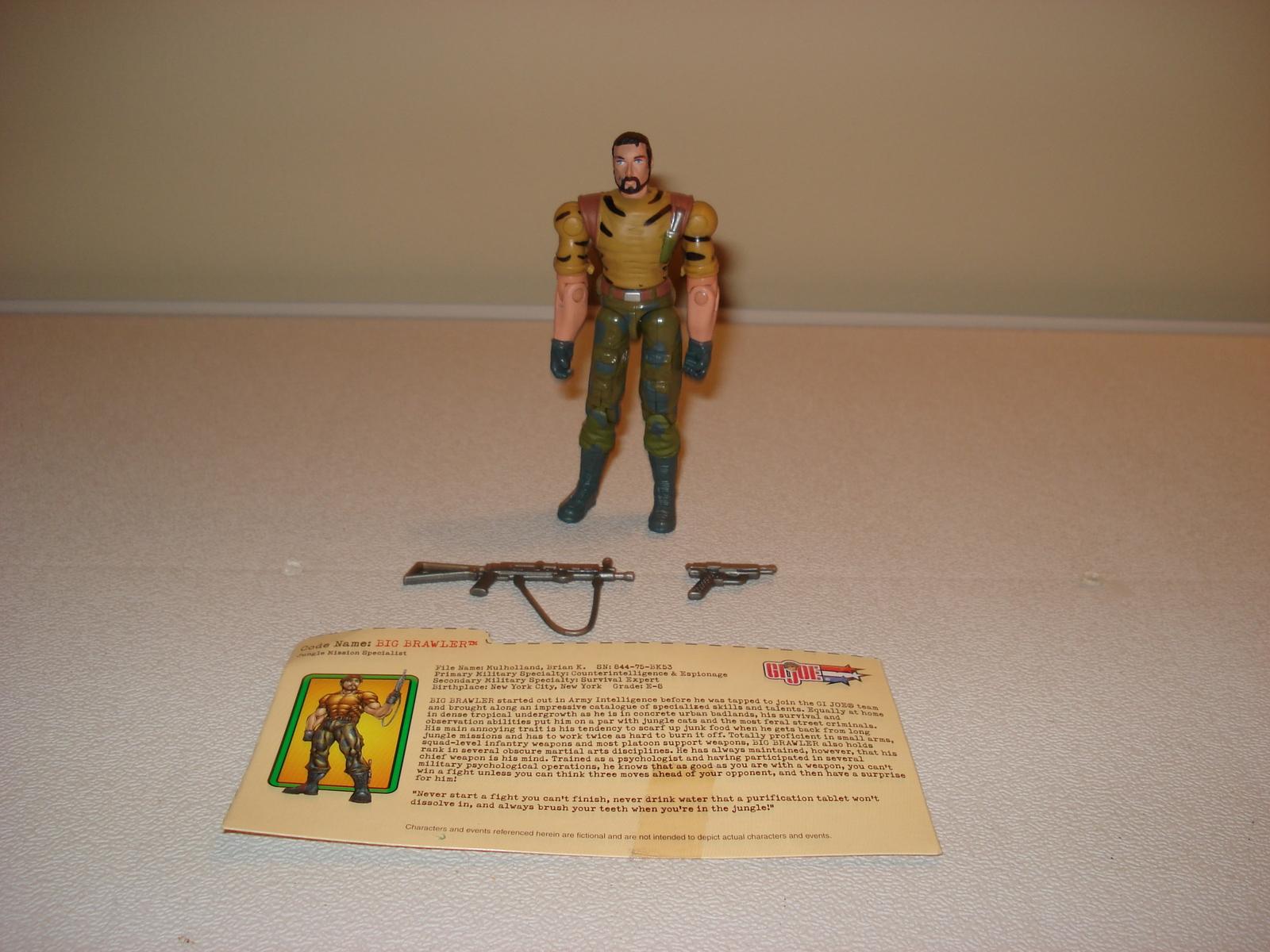 gi joe vs cobra 2003 big brawler spy troops i1 military