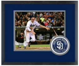 Will Myers 2015 San Diego Padres- 11 x 14 Team Logo Matted/Framed Photo - $42.95